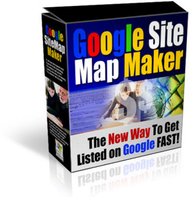 Product picture Google Sitemap Maker with Master Resell Rights