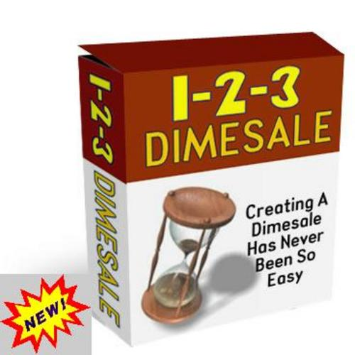 Product picture 1-2-3 Dimesale With Master Resell Rights