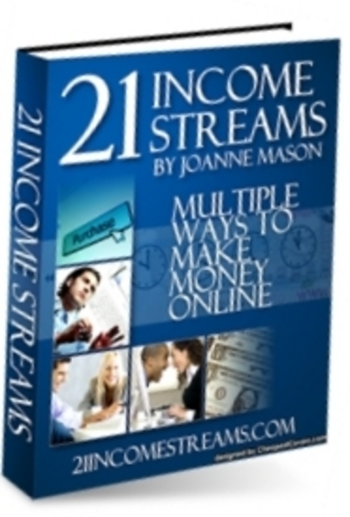 Product picture 21 Income Streams With Master Resale Rights