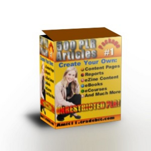 Product picture 500 PLR Articles *Very High Quality*