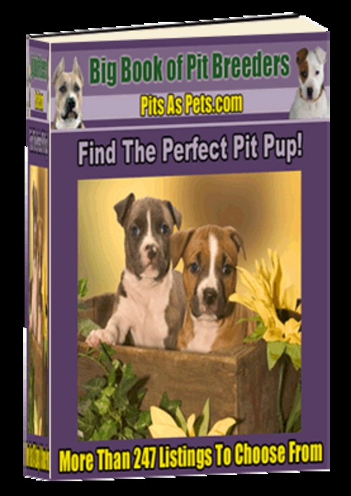 Product picture *New* Big Book Of Pit Breeders - ( Master Resell Rights )