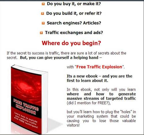 Product picture Free Traffic Explosion - ( Master Resell Rights )