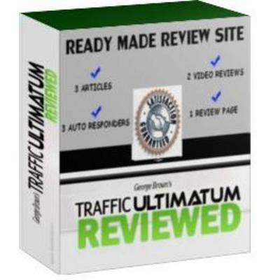 Product picture Ready Made Review Site : Traffic Ultimatum