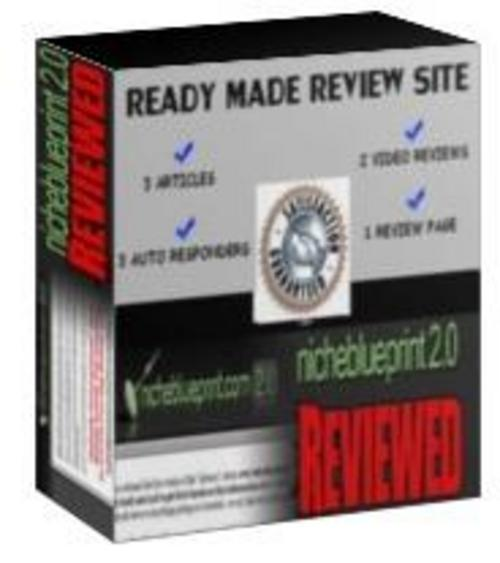Product picture Ready Made Review Site : Niche Blueprint 2.0