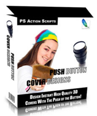 Product picture Original Push Button Cover Design Software With PLR
